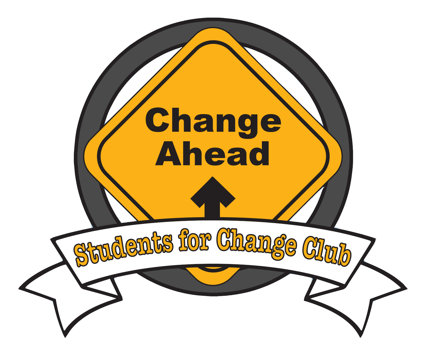 Change Ahead  - Students for change club logo
